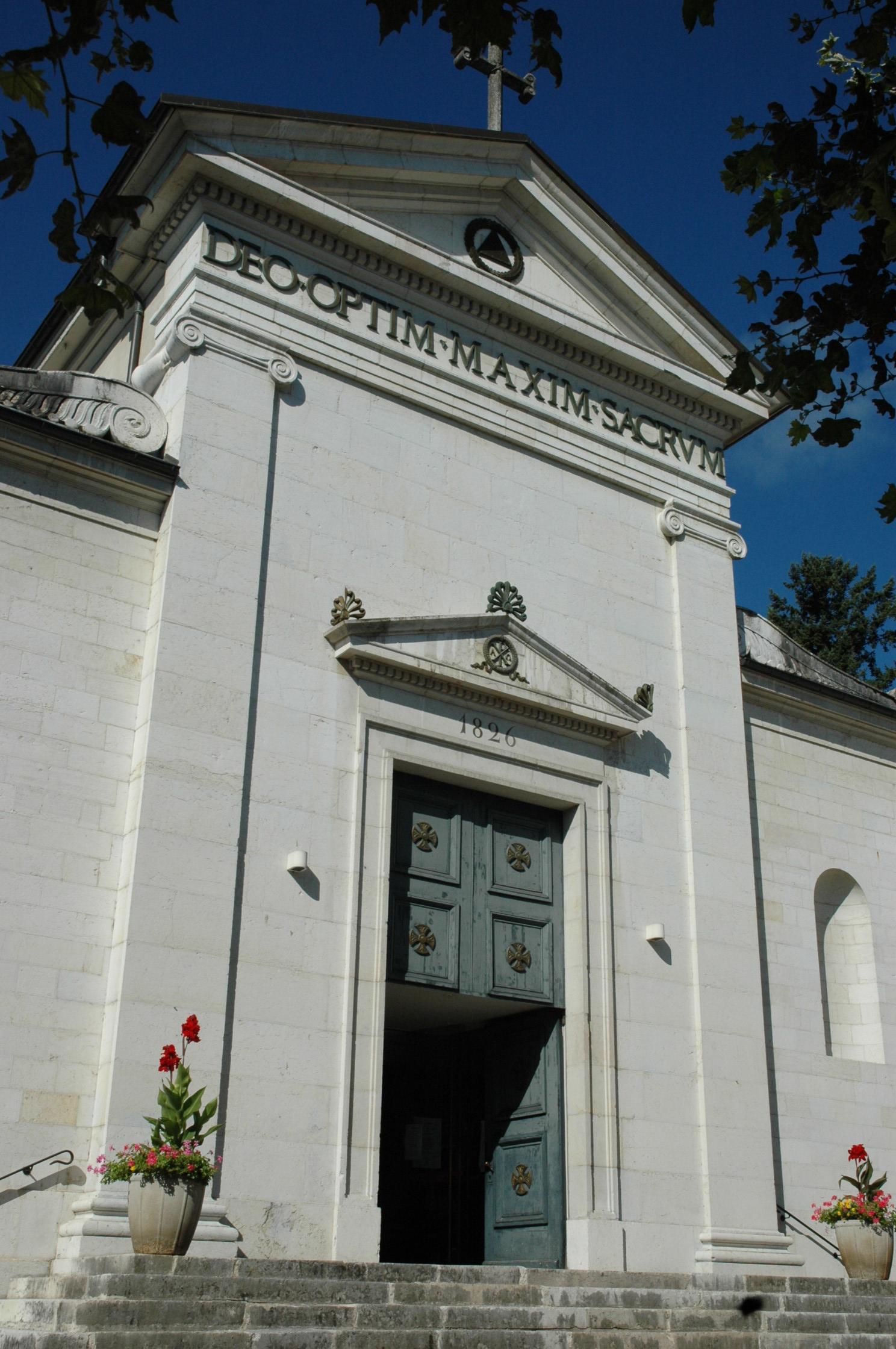 Eglise notre dame et saint andr ch teau de voltaire ferney voltaire - Office du tourisme ferney voltaire ...