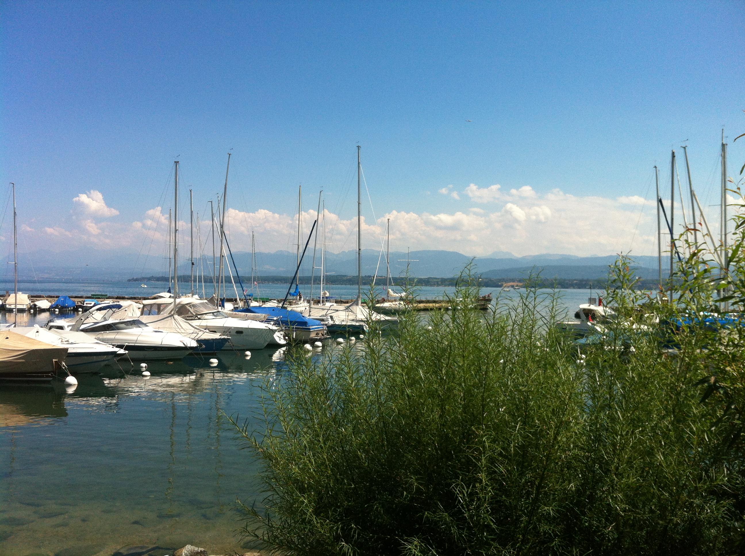 Naviguer Sur Le Lac Leman